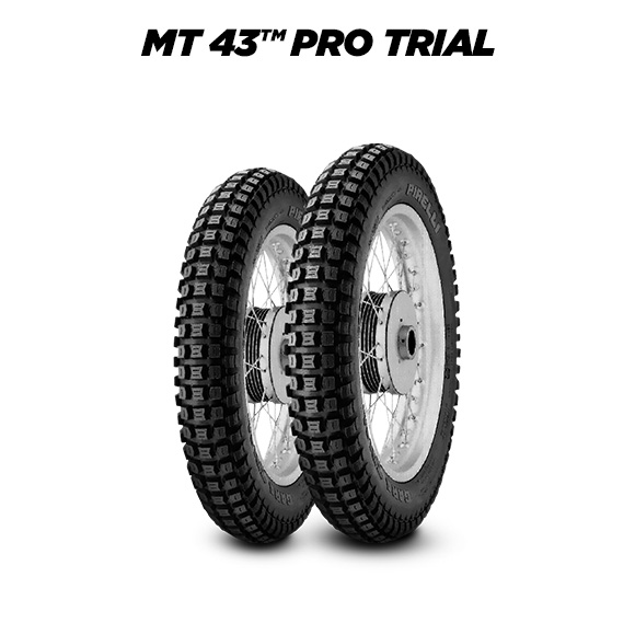 MT 43 PRO TRIAL motorbike tire for off road