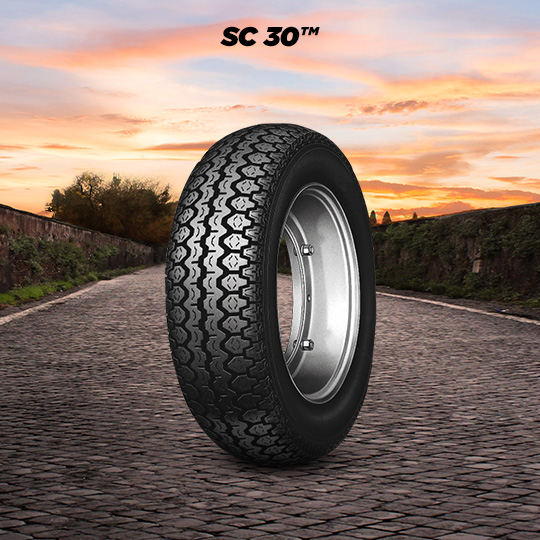 SC 30 tire for SCATTO Mix motorbike
