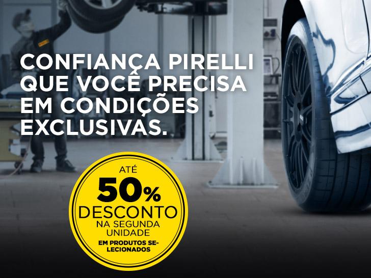 Promoção Pirelli