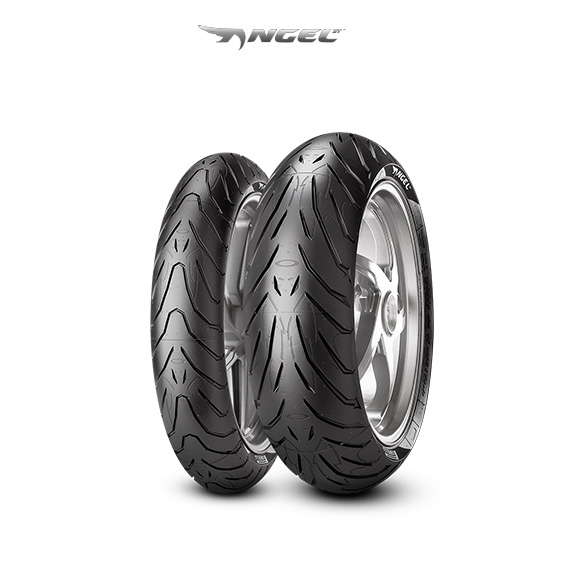 ANGEL ST tire for KAWASAKI ZXR 750 R ZX 750 L  Vers. M (> 1993) motorbike