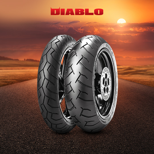 DIABLO tire for YAMAHA XSR700; XSR700X Tribute RM11; RM12 (2015-2020) motorbike