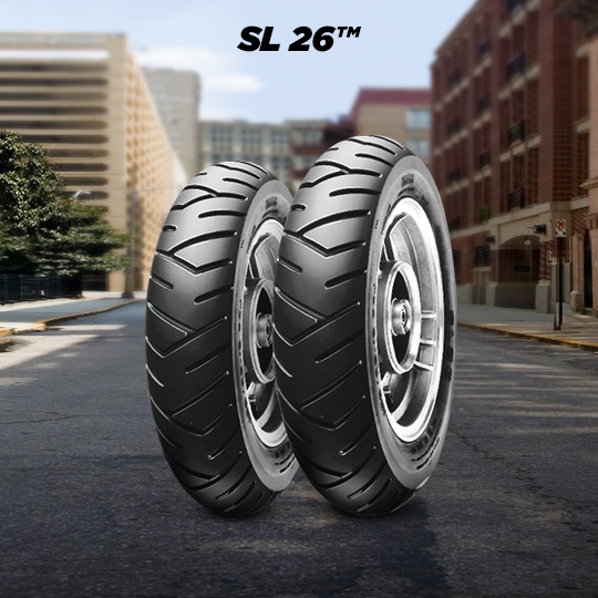 SL 26 tire for YAMAHA BW`S BUMP motorbike