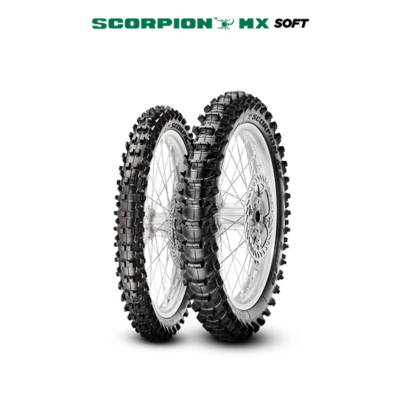Pneumatico moto per off road SCORPION MX SOFT