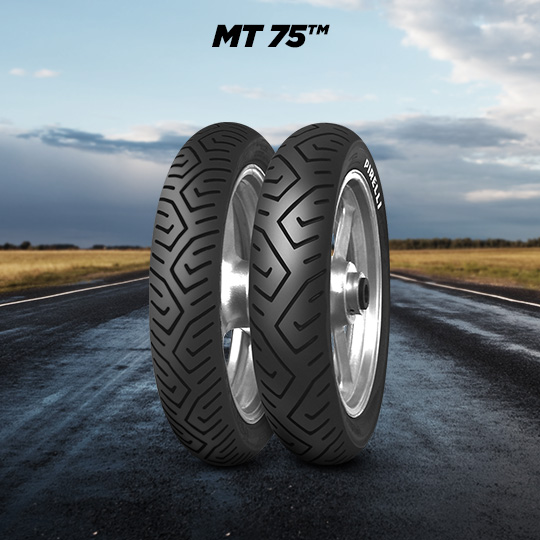 MT 75 tire for HONDA SH 125 D; AD JF 68 (> 2017) motorbike
