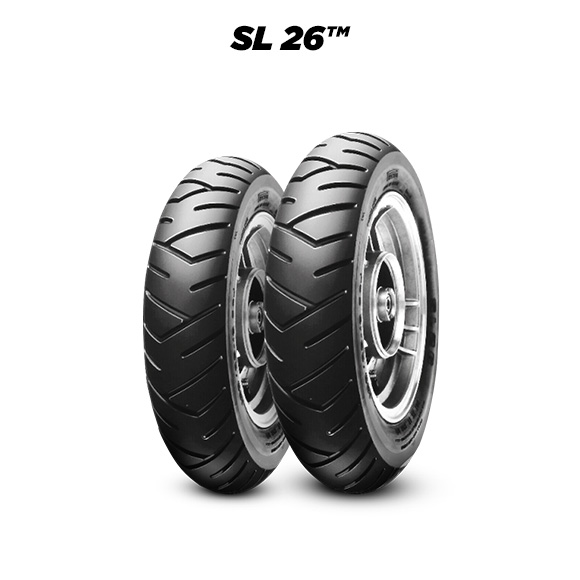SL 26 tire for MBK Booster Track (> 1997) motorbike