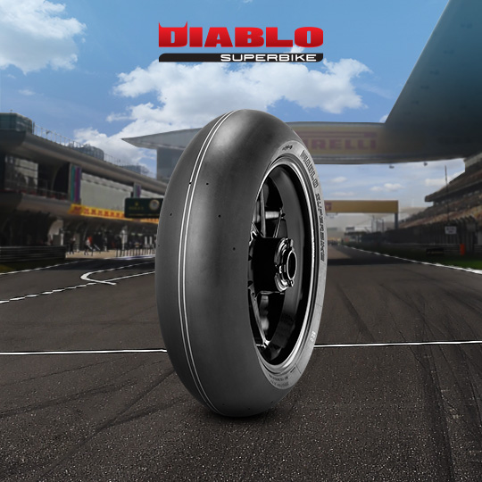 DIABLO SUPERBIKE motorbike tire for track