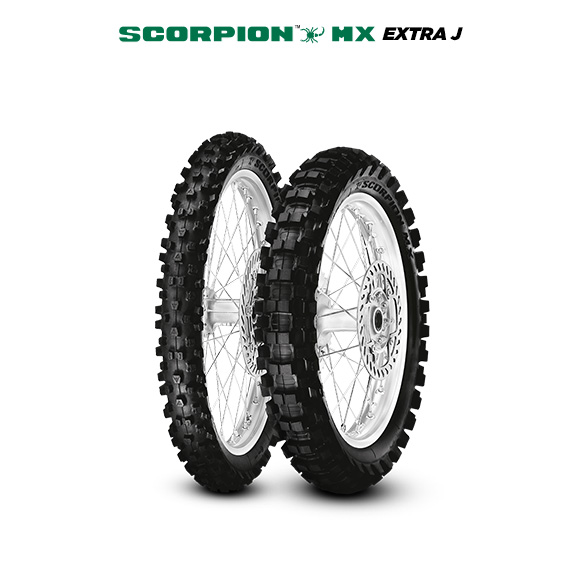 SCORPION MX EXTRA J tire for YAMAHA TT-R 125 LW (> 2005) motorbike