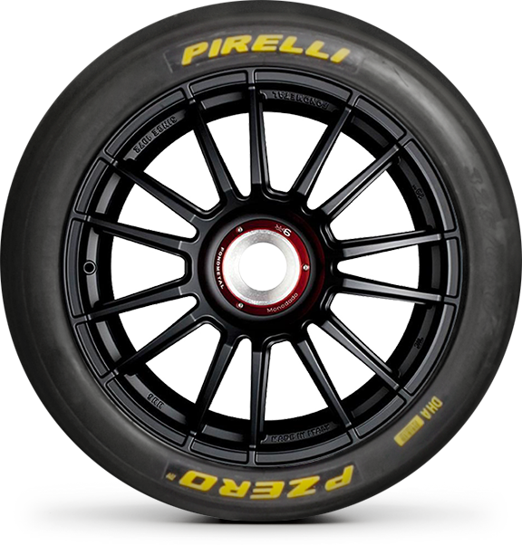 Motorsport tires for circuit