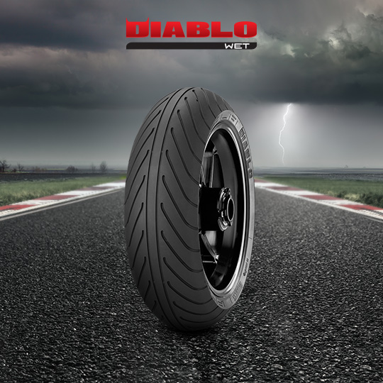 DIABLO WET motorbike tire for track