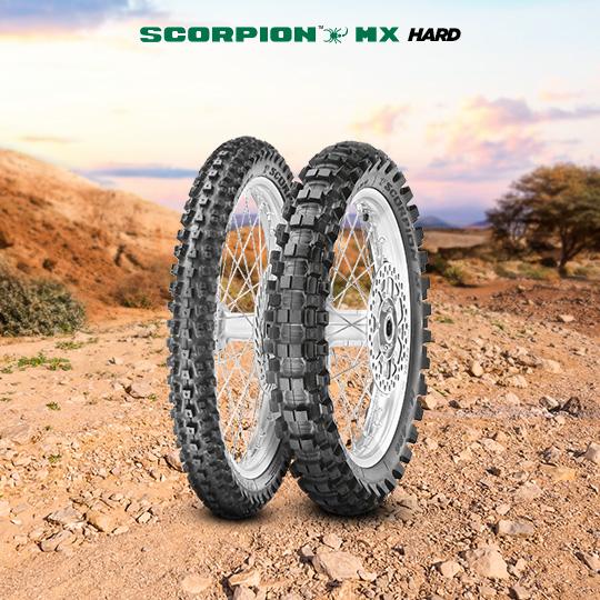 Motorradreifen für track SCORPION MX HARD
