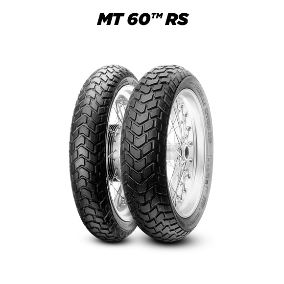 MT60 RS tire for YAMAHA XSR700; XSR700X Tribute RM11; RM12 (2015-2020) motorbike