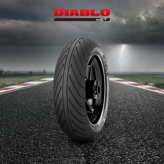 Pneumatico moto per track DIABLO WET