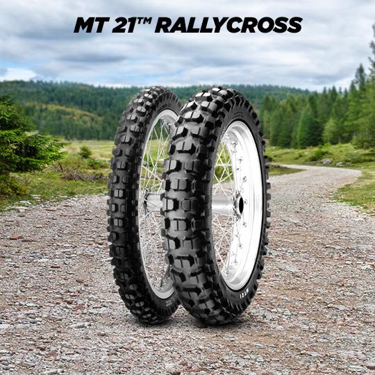 Motorradreifen MT 21 RALLYCROSS für YAMAHA XT 600 K; E 3 UW; 3 TB; DJ 02 (> 1991)