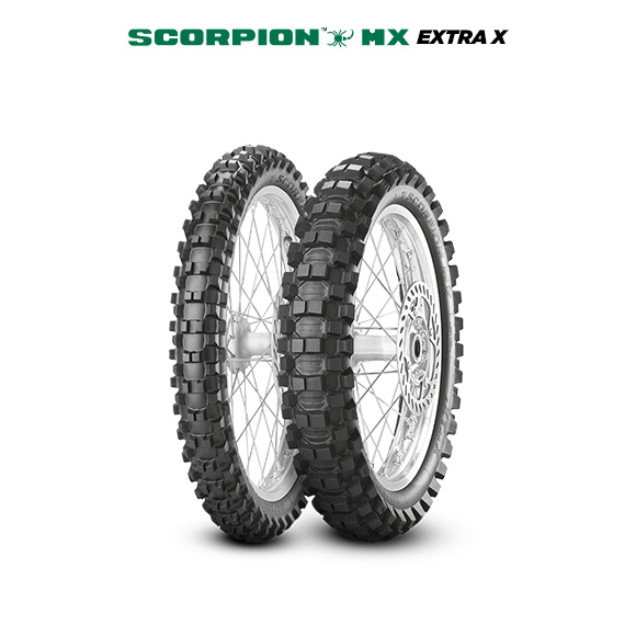 SCORPION MX EXTRA X tire for KAWASAKI KX 250 KX 250 L1 (> 1999) motorbike