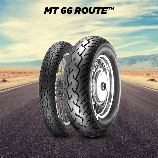 ROUTE MT 66 motorbike tire for road