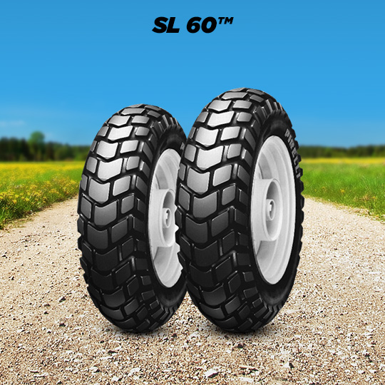 SL 60 tire for MBK Booster Track (> 1997) motorbike