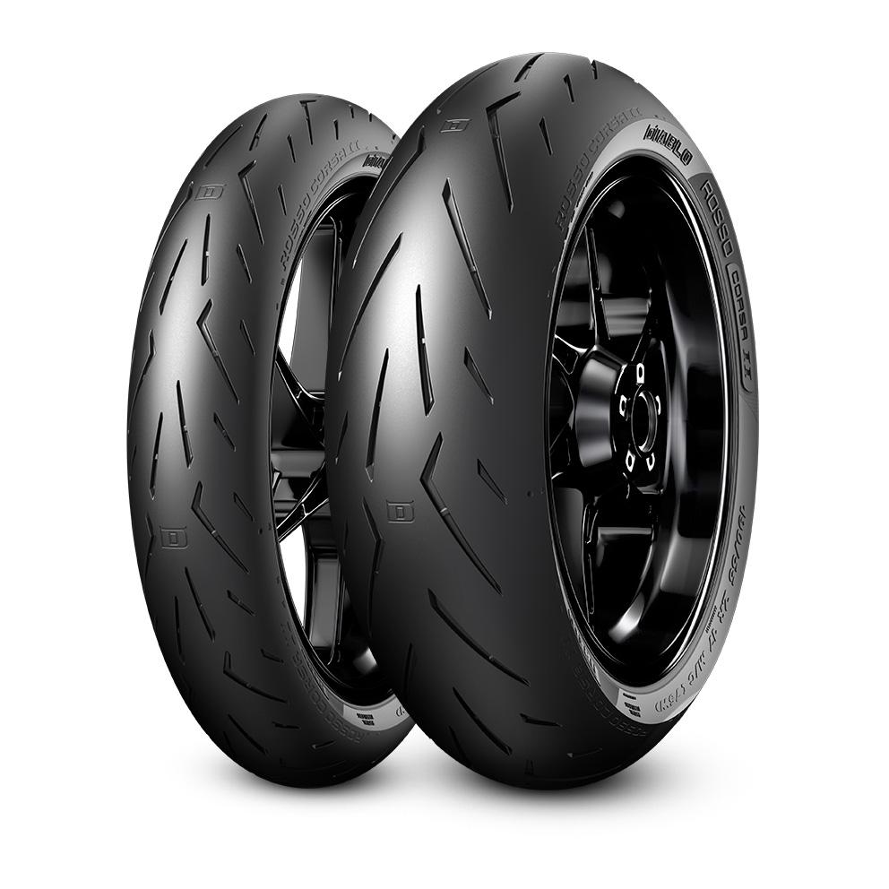 Pneumatico moto Pirelli DIABLO™ ROSSO CORSA II