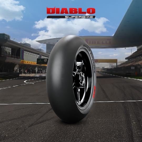 DIABLO SUPERBIKE motorbike tire for track