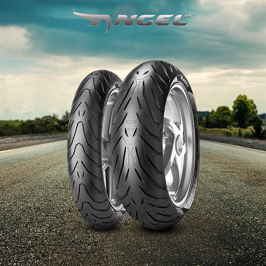 ANGEL ST tire for KAWASAKI Ninja H2 SX; SE ZXT02A (> 2018) motorbike