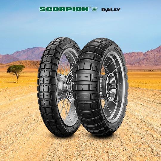 SCORPION RALLY tire for SHERCO 250 SE-R 2T (> 2015) motorbike