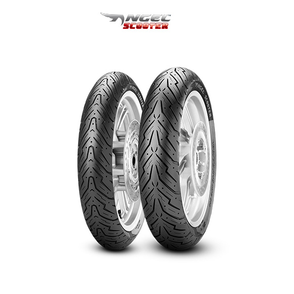 ANGEL SCOOTER tyre for GILERA Fuoco 500 (2 front tyres) 3 Wheeler; M6 (> 2007) motorbike