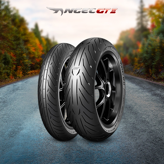 ANGEL GT II tire for KAWASAKI ZR-7 S ZR 750 F Vers. H (> 2001) motorbike