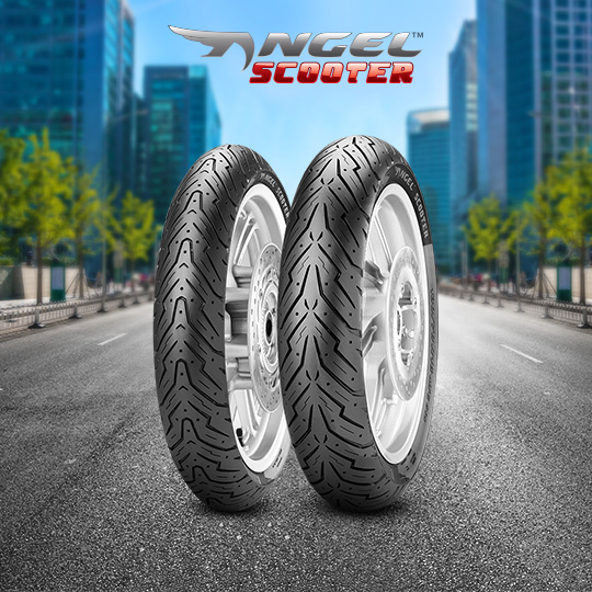 ANGEL SCOOTER tyre for YAMAHA BW`S BUMP motorbike