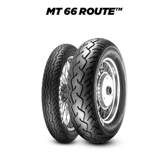 ROUTE MT 66 tyre for HARLEY DAVIDSON FLSTS Soft. Her. Cust. Spr. MY 1991-1999 FXST (1991>1999) motorbike