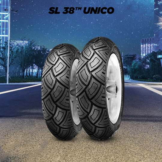 SL 38 UNICO motorbike tyre for scooter