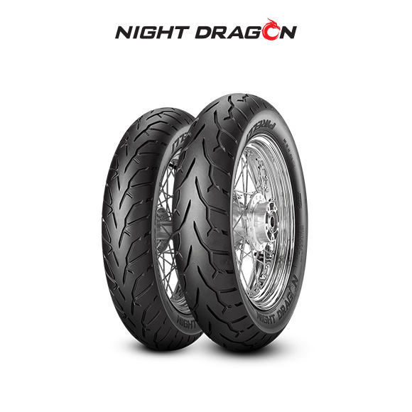 NIGHT DRAGON tyre for HARLEY DAVIDSON FLSTF(I) Fat Boy; FLSTC(I) Her.Soft.Cl FS2 (> 2003) motorbike