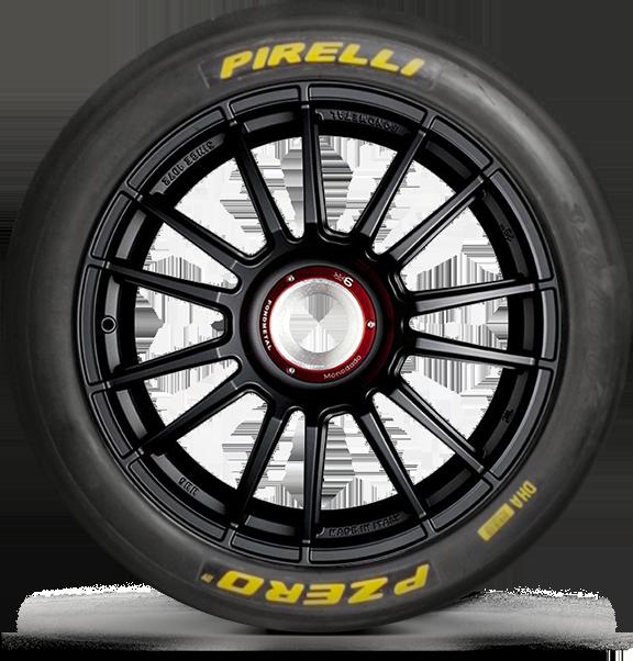 Motorsport tyres for circuit