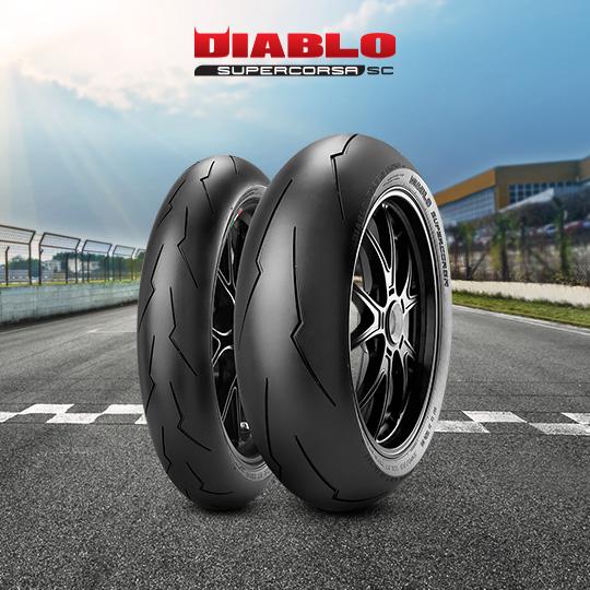 DIABLO SUPERCORSA V2 708 Motorband voor track