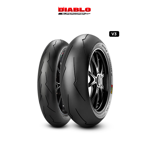 DIABLO SUPERCORSA V3 707 tyre for DUCATI Monster S4R; Rs M4 / 17 (> 2006) motorbike