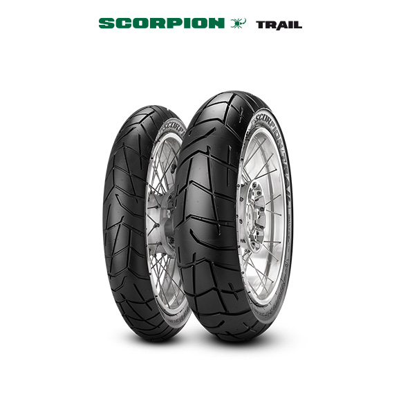 SCORPION TRAIL tyre for SUZUKI DR 650 R/RU; RS/RSU; SE/SEU SP41B; SP42B; SP46B (1950-1998) motorbike