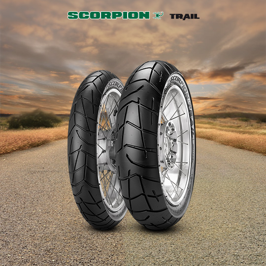 SCORPION TRAIL motorbike tyre for on / off road
