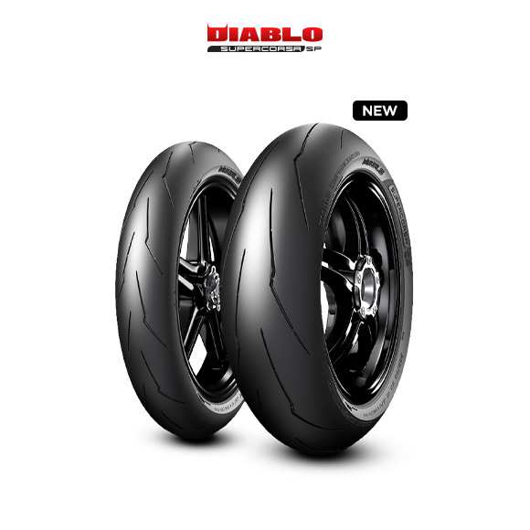 DIABLO SUPERCORSA V3 707 tyre for DUCATI Supersport; S  MY 2017 - VA; VC (> 2017) motorbike