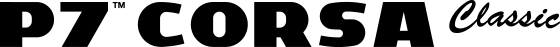ピレリモータースポーツタイヤ P7™ CORSA Classic