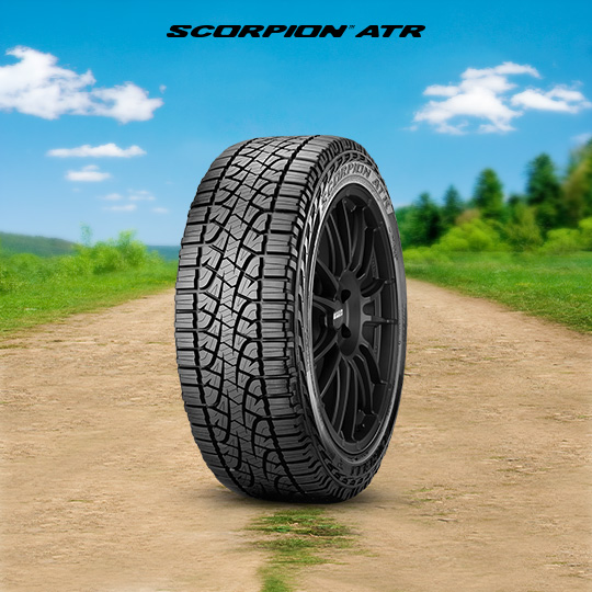 SCORPION ATR car tyre