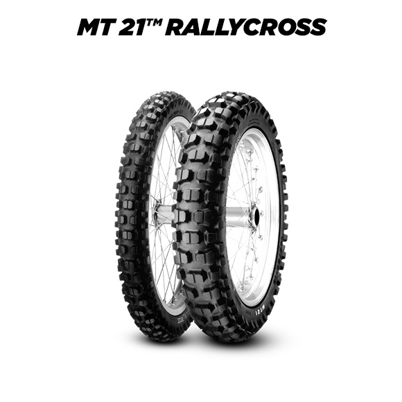 MT 21 RALLYCROSS tyre for YAMAHA DT 125 RE DE 06 (> 2004) motorbike