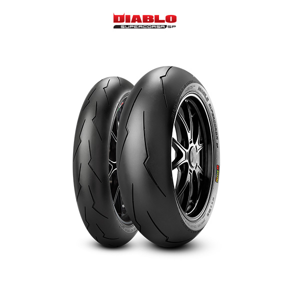 DIABLO SUPERCORSA V2 707 tyre for DUCATI Supersport; S  MY 2017 - VA; VC (> 2017) motorbike