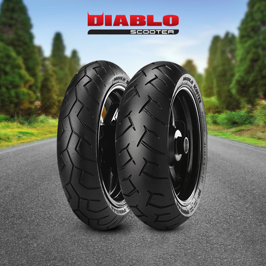 DIABLO SCOOTER motorbike tyre for scooter