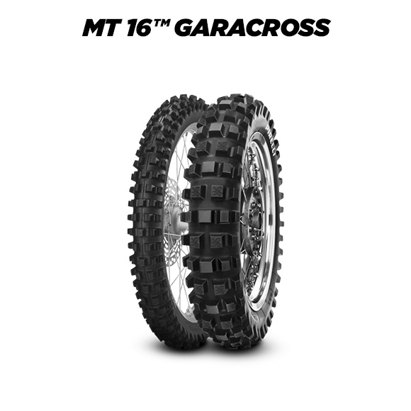 MT 16 GARACROSS tyre for HONDA CRF 450 X (> 2005) motorbike