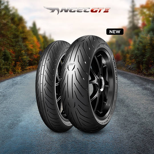 ANGEL GT II motorbike tyre for road