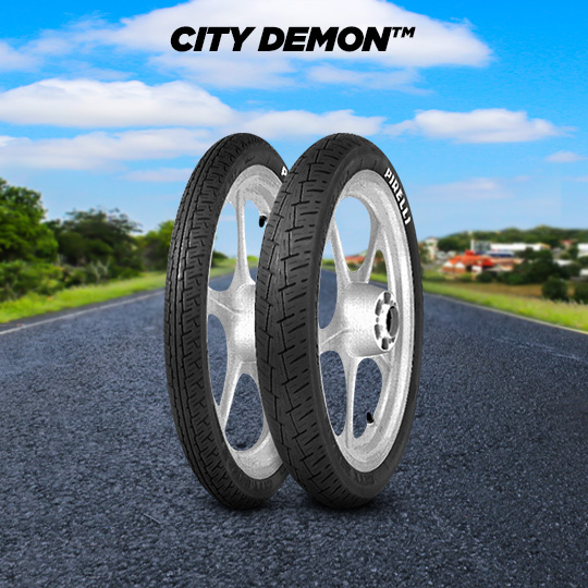 CITY DEMON tyre for HONDA CB 125 Disk; T; T 2 CB 125 K;  CB 125 T motorbike