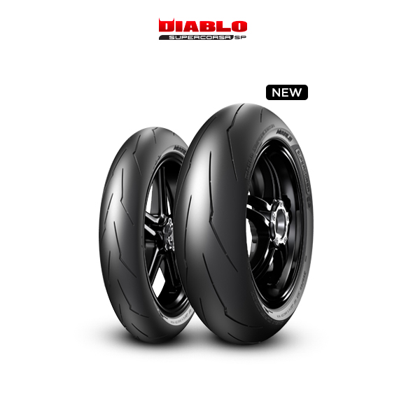 DIABLO SUPERCORSA V3 707 tire for YAMAHA YZF-R1  (> 2004) motorbike