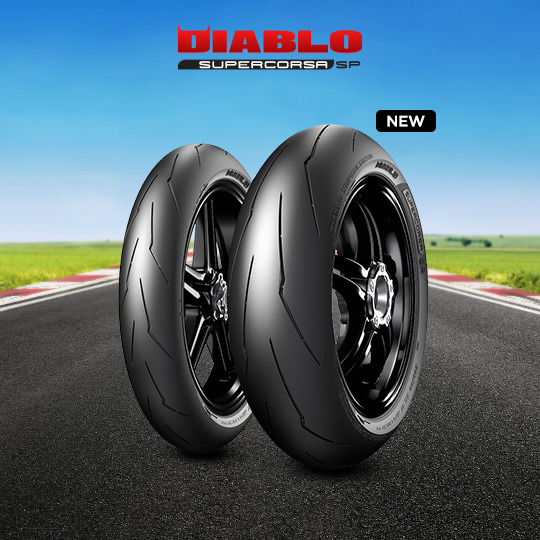 DIABLO SUPERCORSA V3 707 tyre for DUCATI Monster 821; Dark (35 KW) (all versions) M7 / 01 (2014-2016) motorbike