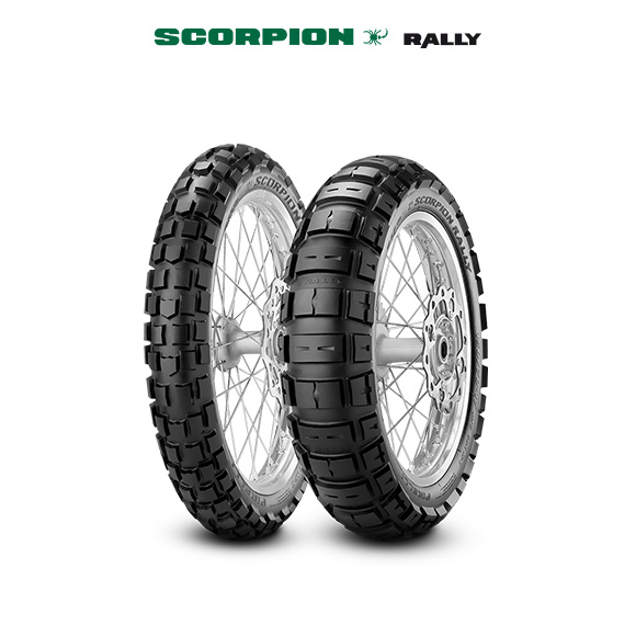 SCORPION RALLY tyre for DUCATI Scrambler Desert Sled  MY 2017 - KB (> 2017) motorbike