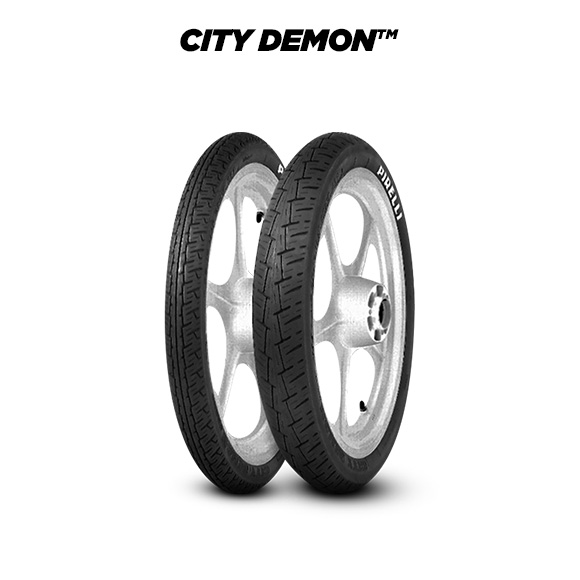 CITY DEMON tyre for YAMAHA RD 125 LC 10 W (1982-1986) motorbike