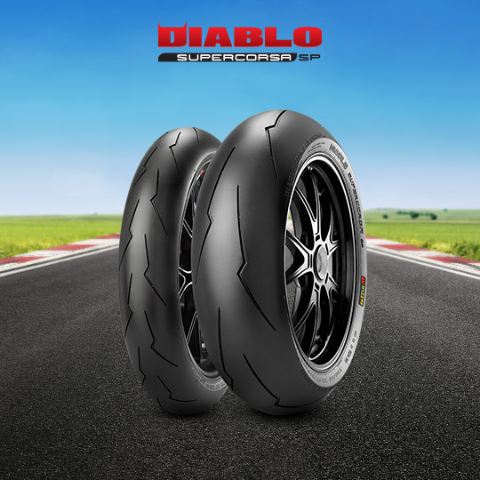 DIABLO SUPERCORSA V2 707 tyre for DUCATI 1000 Supersport; DS  (> 2003) motorbike