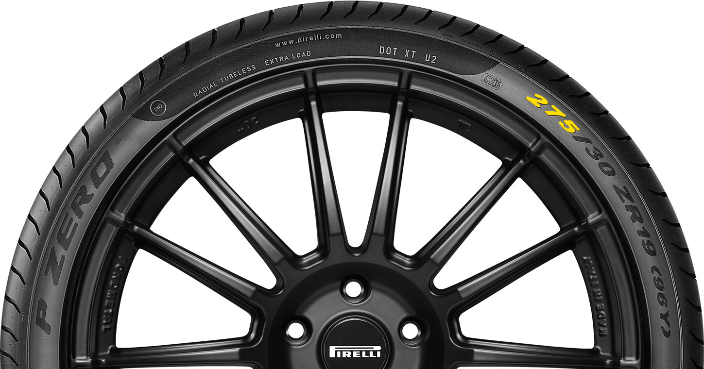 How to read a marked tyre